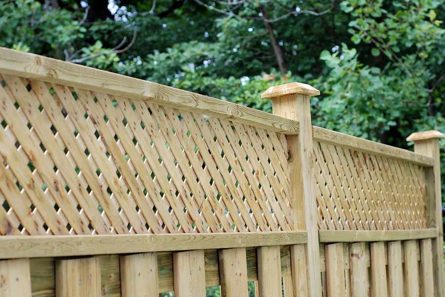 wood fences for boundaries